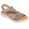 Earth Bali - Women's Sporty Comfort Sandal - Taupe - quarter main