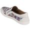 Earth Currant - Women's Slip-on Comfort Shoe - Floral Multi - back