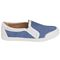 Earth Currant - Women's Slip-on Comfort Shoe - Sapphire Blue - outside