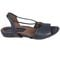 Earthies Lacona - Women's Dressy Comfort Sandals - Navy - outside