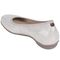 Earthies Ennis - Women's Ballet Flat - Taupe - back