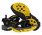 Pacific Mountain Osoyoos Men's Outdoor Comfort Sandal - Black/Yellow pair