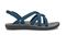 Olukai Kalapu Girl's Supportive Sandals - Legion Blue / Fog - Profile