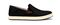 Olukai Kahu - Men's Slip-On Comfort Shoe - Black / Off White - Profile