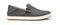 Olukai Kahu - Men's Slip-On Comfort Shoe - Charcoal/Off White - Profile