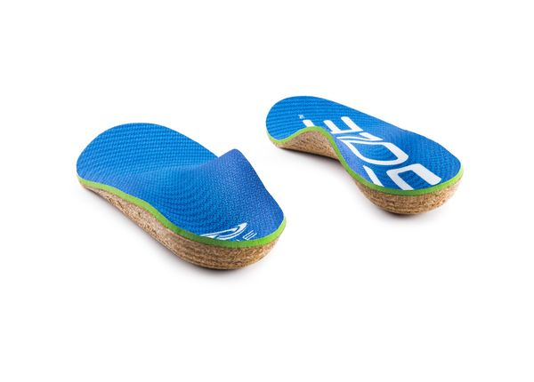 Sole Active Thick with Met Pad - Cork Customizable Orthotic - met back