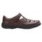 Propet Bayport Mens Sandal - Brown - out-step view
