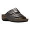 Propet June Womens Sandal - Silver - angle view - main