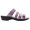 Propet Aurora Slide Womens Sandal - Ruby - out-step view
