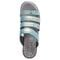 Propet Aurora Slide Womens Sandal - Imperial Blue - top view
