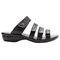 Propet Aurora Slide Womens Sandal - Black - out-step view