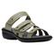 Propet Aurora Slide Womens Sandal - Silver Sage - angle view - main