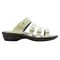 Propet Aurora Slide Womens Sandal - Silver Sage - out-step view