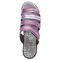 Propet Aurora Slide Womens Sandal - Ruby - top view