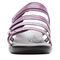 Propet Aurora Slide Womens Sandal - Ruby - front view