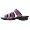 Propet Aurora Slide Womens Sandal - Ruby - instep view
