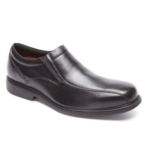 Rockport Charles Road Slip On - Men's Dress Shoe - Black - Angle