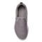 Vionic Brisk Blaine - Women's Active Slip-on Sneaker - Charcoal - 3 top view