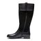 Vionic Country Downing - Women's Weather Resistant Boots - Black - 2 left view