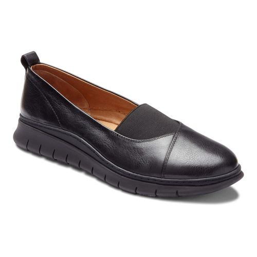 Vionic Fresh Linden - Women's Casual Slip-on - Black - 1 main view