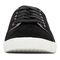 Vionic Sunny Brinley - Women's Water Resistant Suede Sneaker - Black - 6 front view