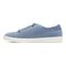 Vionic Sunny Brinley - Women's Water Resistant Suede Sneaker - Light Blue - 2 left view
