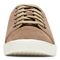 Vionic Sunny Brinley - Women's Water Resistant Suede Sneaker - Light Tan - 6 front view