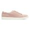 Vionic Sunny Brinley - Women's Water Resistant Suede Sneaker - Light Pink - 4 right view