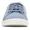 Vionic Sunny Brinley - Women's Water Resistant Suede Sneaker - Light Blue - 6 front view