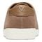 Vionic Sunny Brinley - Women's Water Resistant Suede Sneaker - Light Tan - 5 back view