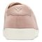 Vionic Sunny Brinley - Women's Water Resistant Suede Sneaker - Light Pink - 5 back view