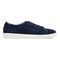 Vionic Sunny Brinley - Women's Water Resistant Suede Sneaker - Navy - 4 right view
