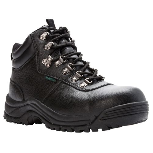 Propet Shield Walker Mens Boots Utility - Black - angle view - main
