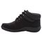 Propet Madi Ankle Lace Womens Boots A5500 - Black - instep view