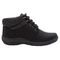 Propet Madi Ankle Lace Womens Boots A5500 - Black - out-step view