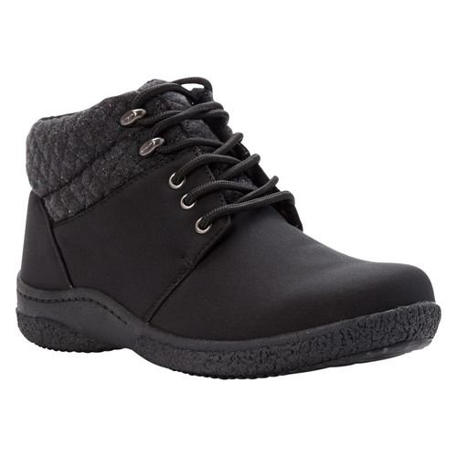 Propet Madi Ankle Lace Womens Boots A5500 - Black - angle view - main