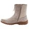Propet Delaney Mid Zip Womens Boots - Sand - instep view