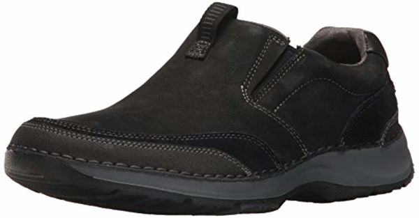 Rockport RocSports Lite Five Slip On - Men's Casual Shoe - Black