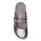 Vionic Jenelle Women's Supportive Mule - Pewter Metallic - 3 top view