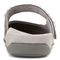 Vionic Jenelle Women's Supportive Mule - Pewter Metallic - 5 back view