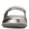 Vionic Jenelle Women's Supportive Mule - Pewter Metallic - 6 front view