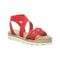 Bearpaw 2243Y  Nora Youth 614 - Red - Profile View main