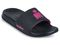 Ironman Women's Makai Supportive Shower Slide - Black/Blossom - Profile