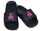 Ironman Women's Makai Supportive Shower Slide - Black/Blossom - Pair