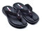 Ironman Men's Lani Supportive Recovery Flip Flop - Black - Main