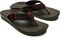 Olukai Nohona Ulana Men's Beach Sandals - Dk Wood/Dk Wood - Pair