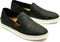 Olukai Pehuea Lau Women's Leather Sneakers - Black/Black - Pair