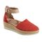 Earth Yarrow - Women's Sandal Sandal - Bright Coral - Profile