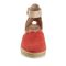 Earth Yarrow - Women's Sandal Sandal - Bright Coral - Front