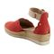 Earth Yarrow - Women's Sandal Sandal - Bright Coral - Back Angle